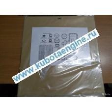 Оригинал нижний набор прокладок kubota V2203 07916-29515