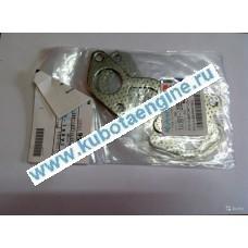 Прокладка выпускного коллектора левая kubota V2203 1A091-12350
